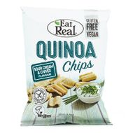 Quinoa chipsy so smotanou a pažítkou Eat Real 30g Cofresh