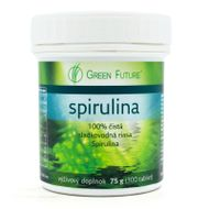 Spirulina tablety 75g Green power
